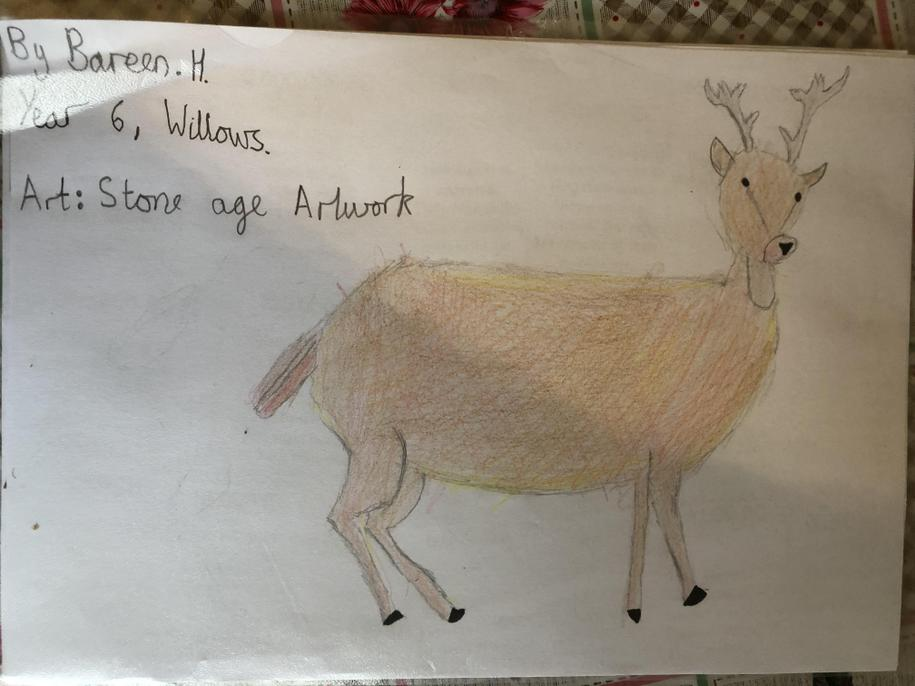 An absolutely amazing deer. You have really captured the detail of the creature.