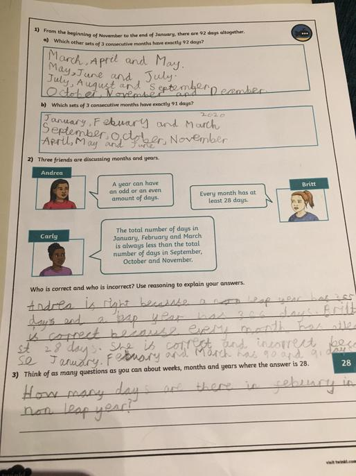 It's great to see you completed all the tasks and the reasoning Arnav. Well done!