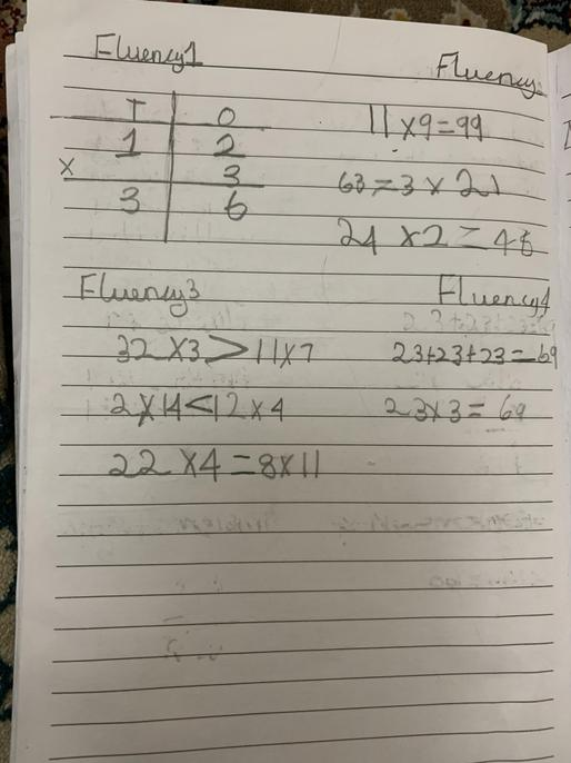 Well done Mina, good use of calculations and explanations here!