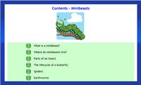 Infant Encyclopedia - Minibeasts