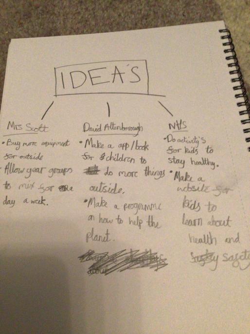 Great ideas. I like the app/book nature idea.