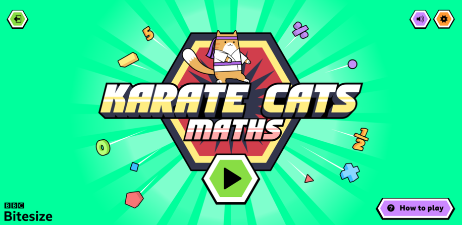 Karate Cats Maths