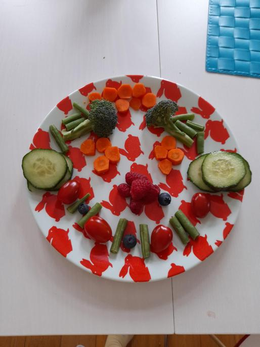 What a happy snack, Anya. I hope you enjoyed it.