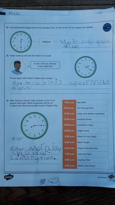 Great to see you trying some reasoning - well done.