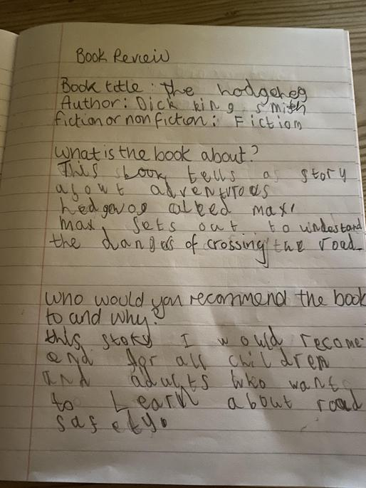 Well done, Taylor. You have understood the message of the book clearly!