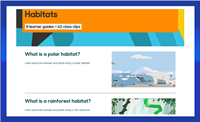 BBC Bitesize - Habitats