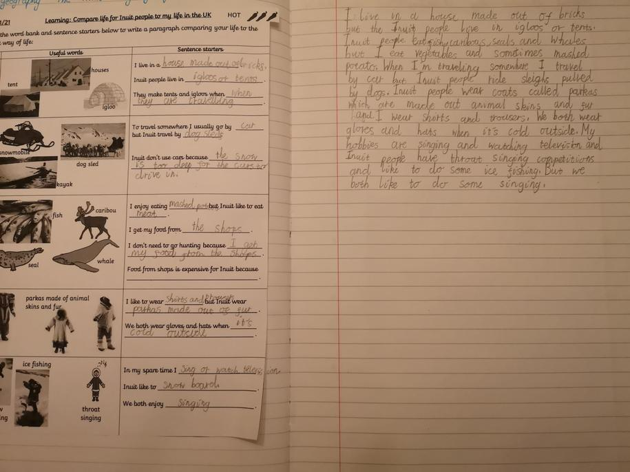 Good use of 'but' to compare in your paragraph. Well done Paola.