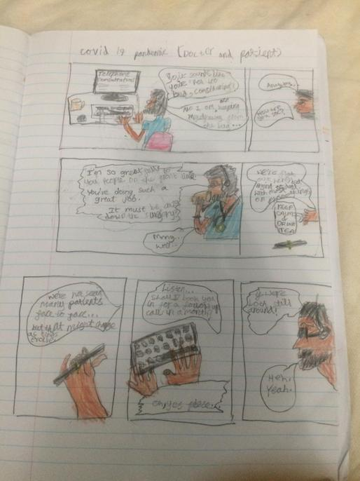 What a lovely comic strip and very topical too.