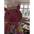 Three little pig mask!