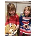 Making gingerbread people!