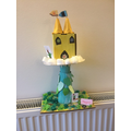 A beanstalk and castle!