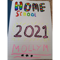 Molly's Creative Home Learning Cover