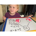 Number bonds to 10 with playdough!