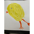 A chick painting!
