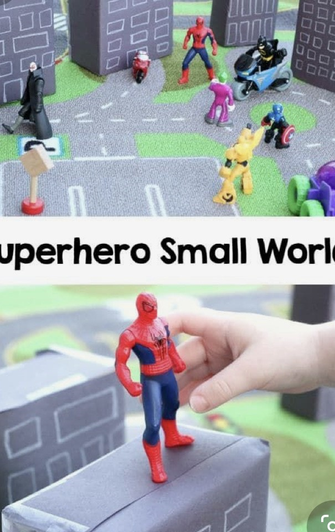 Make your own town for your superheros