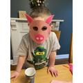 3 little pig mask!