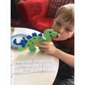 Hammerbead dinosaur!