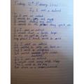Enes' asteroid poem