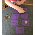 Matching coins to their amounts!