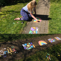 Miss Shoesmith was inspired by your chalk drawings