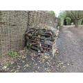 Bug house in the woodland walk