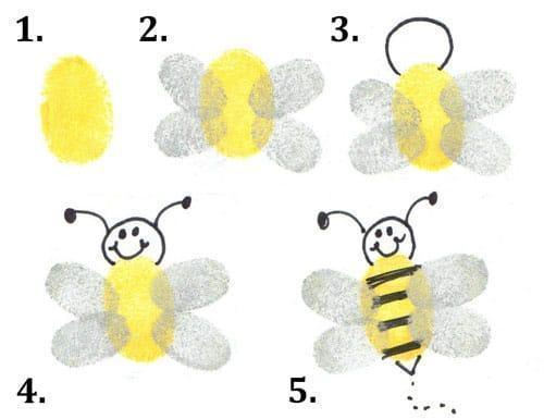 Fingerpint bee (7)