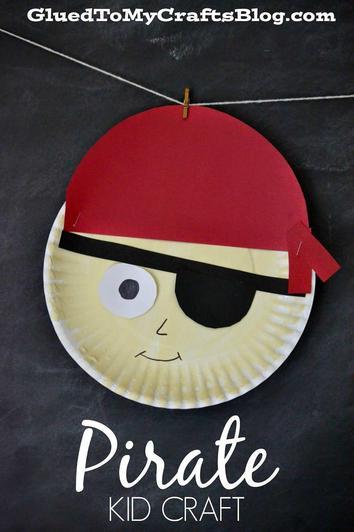 Pirate plate (13)
