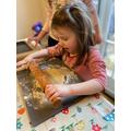 Making gingerbread men!