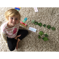 Counting leaves to make numberbonds to 10