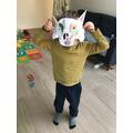 Wolf mask!