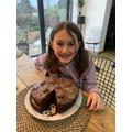 Rosa 4J - Valentines Cake