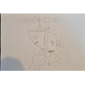 Jack has done some brilliant surrealist drawing.