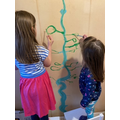 painting our own beanstalk