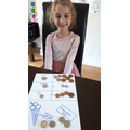 Money sorting!