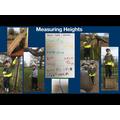 measuring things outside!