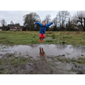 Jumping in puddles!!
