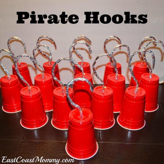 Make a pirate hook!