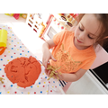 Playdough fossil dinosaurs!