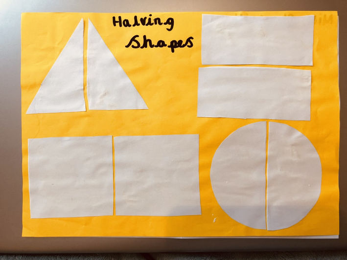 Halving shapes (5)