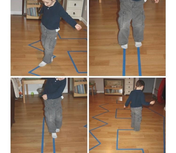 Walking tape lines (8)