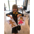 Gingerbread man and woman!