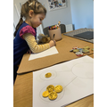 Using chocolate coins for maths