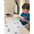 Practising set 2 and 3 phonics!