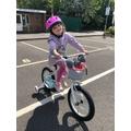 Bike riding!