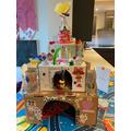 Making a castle!