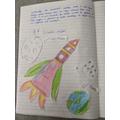 Sienna's rocket launch 5P