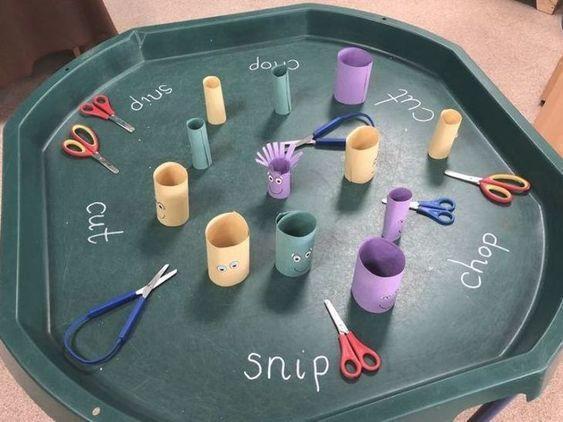 Option 2 - scissor skills