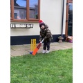 Cricket in the garden!