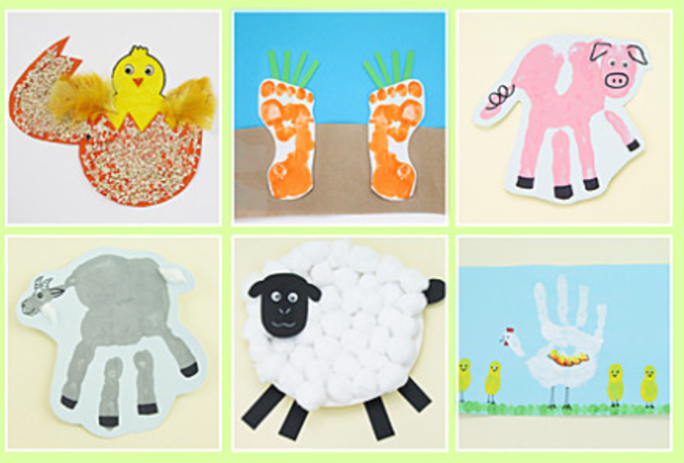 Handprint farm animals (14)