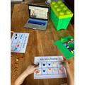 Lego tens frame